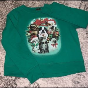Hilarious Animal Ugly Christmas Sweater w/ Bells